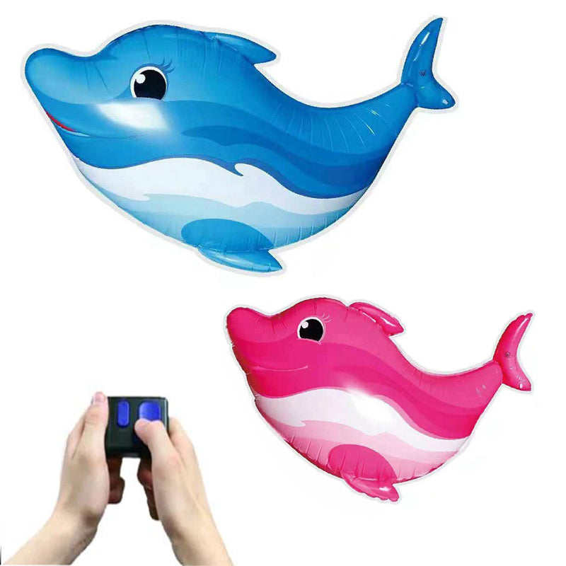 Remote Control Dolphin Toys Infrared RC Flying Air Balloon Animal Toy