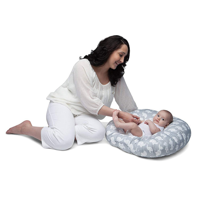 Portable Baby Lounger Super Soft Portable Baby Chair Pillow