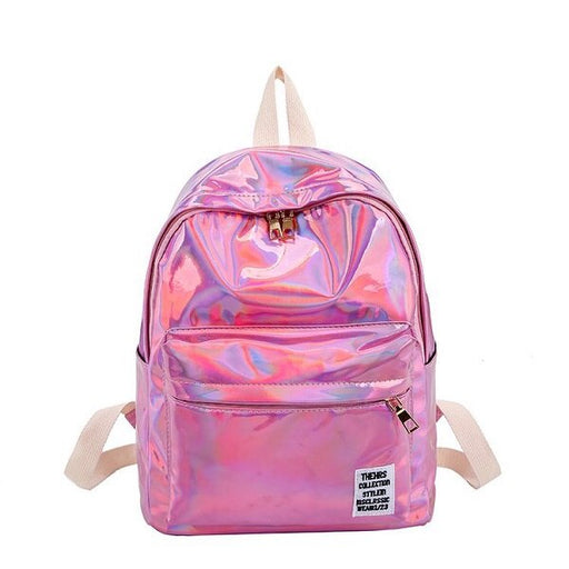 Laser Glossy Backpack