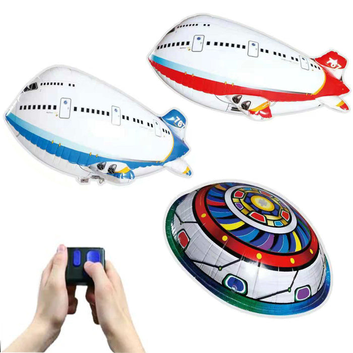 Remote Control Plane Toys Infrared RC Flying Air Balloon Children Toy