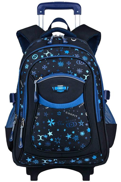 Rolling Backpack Wheeled Backpack School Kids Rolling Backpack With Wheels