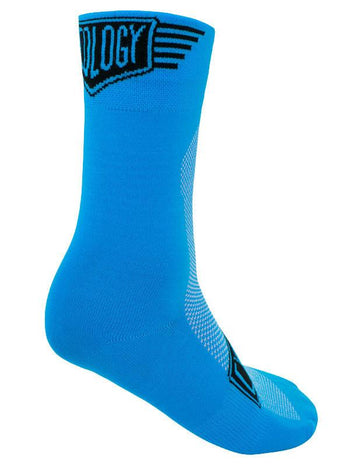 Blue Cycling Socks Cycology