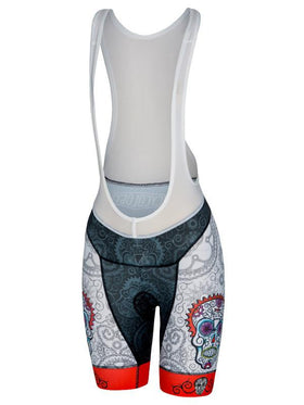Day of the Living Womens Bib Shorts