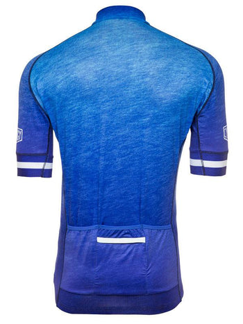 Incognito Blue Mens Cycling Jersey Cycology