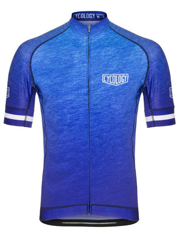 Incognito Blue Mens Cycling Jersey