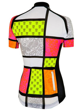 Mondrian Womens Cycling Jersey