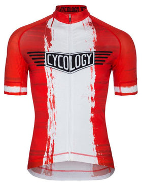 Vintage Dragon Mens Red Cycling Jersey  d5fa009cb