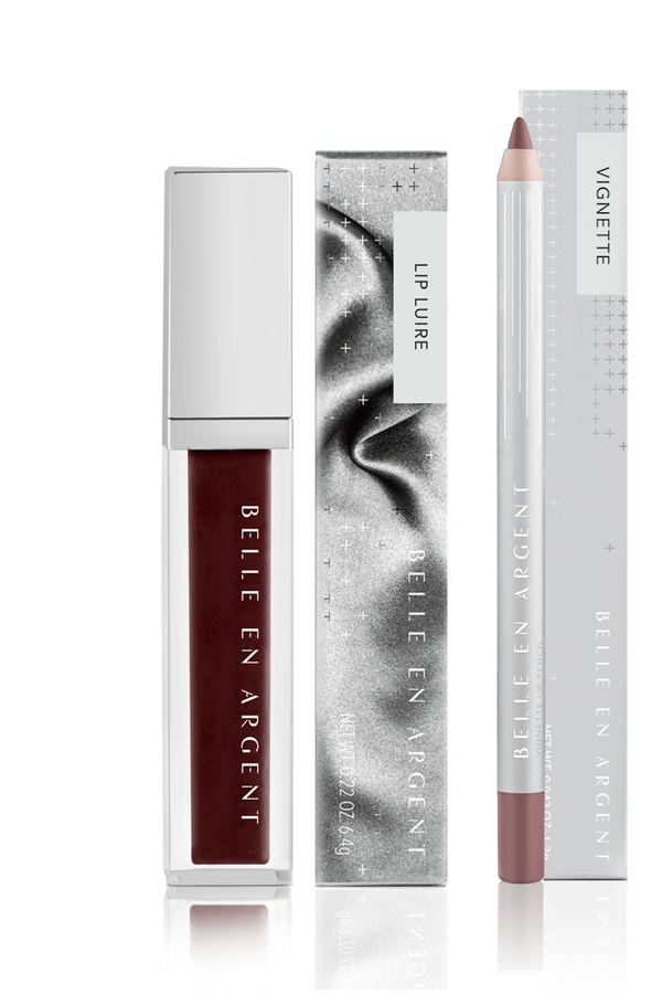 Completely Foxy Gloss Lip Kit - Belle en Argent Clean Beauty