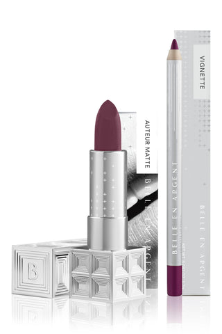 Big Name - 2D Matte Lip Kit - Belle en Argent Clean Beauty