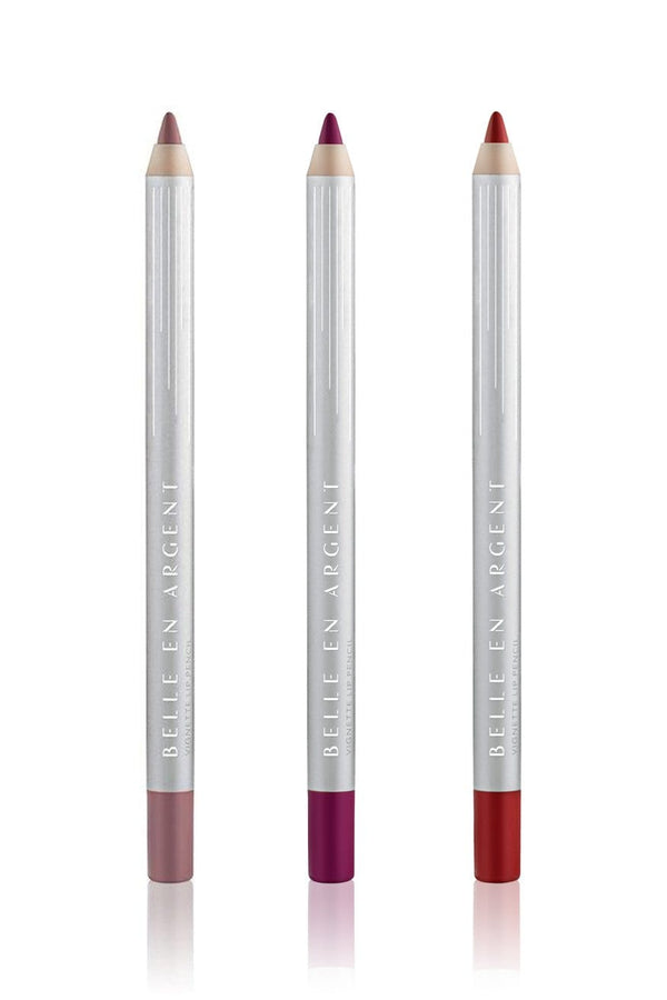 Vignette Lip Pencil Set - Belle en Argent Clean Beauty
