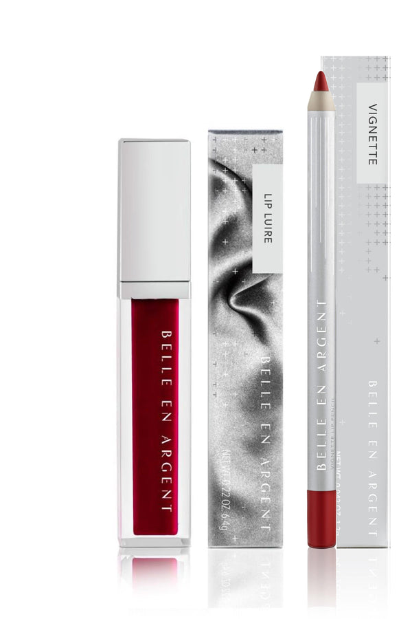 True Story - Gloss Lip Kit - Belle en Argent Clean Beauty