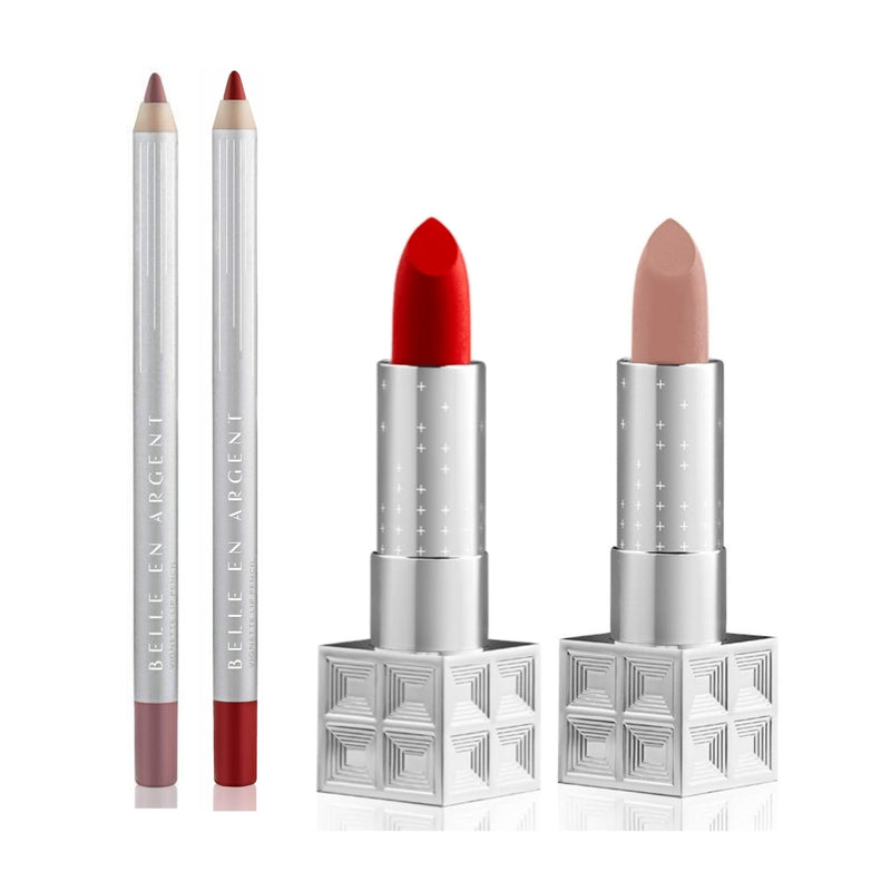 Camera Woman Lip Kit - Belle en Argent Clean Beauty