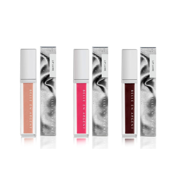 Satire Lip Luire Set - Belle en Argent Clean Beauty