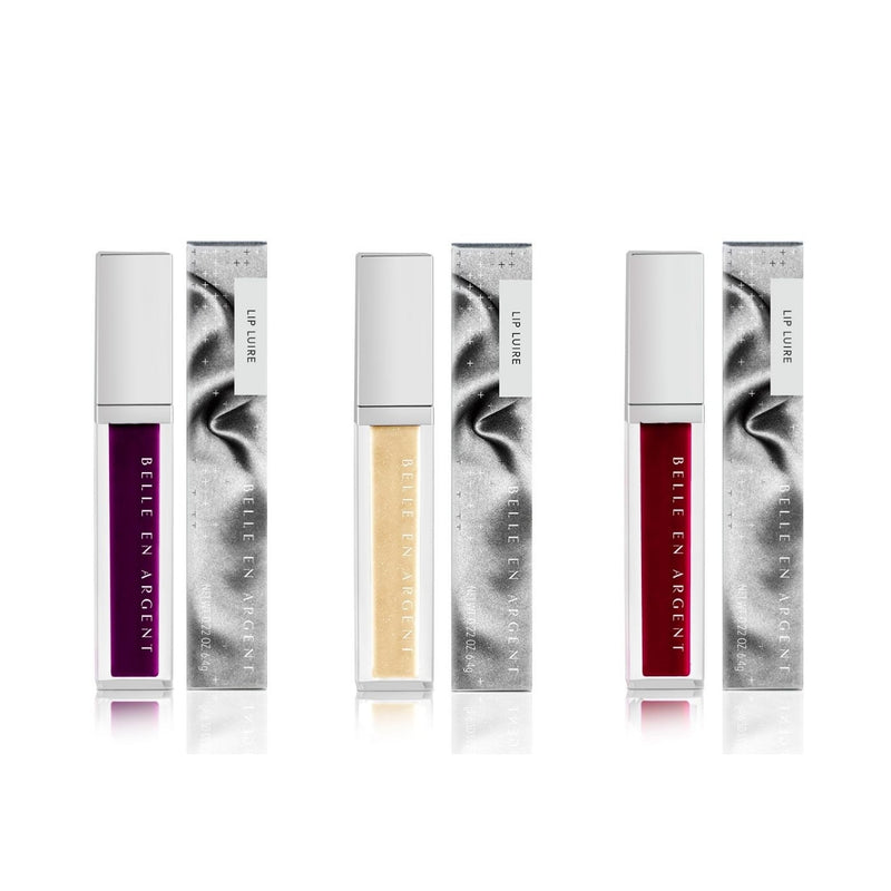 Biopic Lip Luire Set - Belle en Argent Clean Beauty