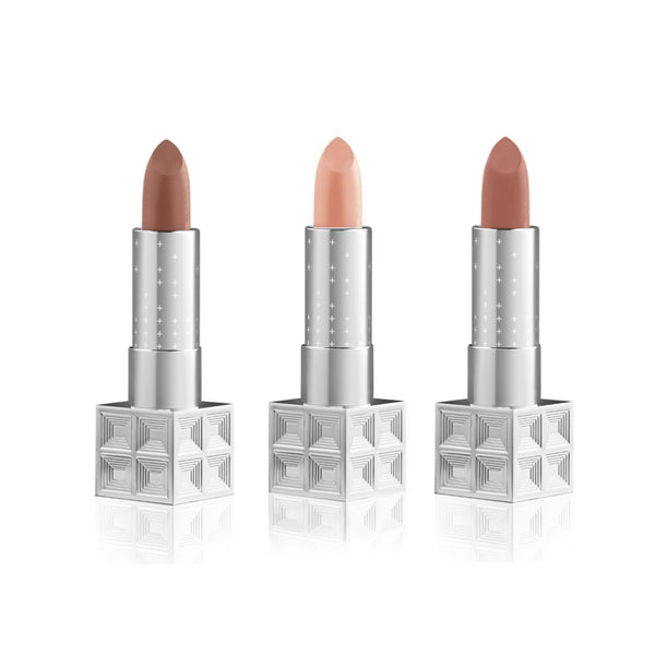Auteur Lipstick Set - Nude - Belle en Argent Clean Beauty