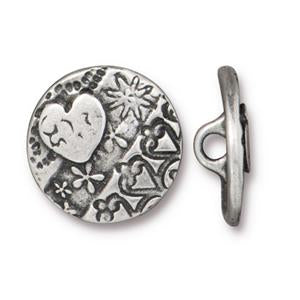 Amor Round - Silver