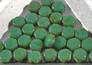 Green Turquoise Dark Travertine