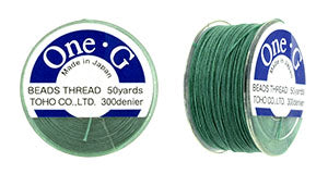 One-G Beading Thread Mint