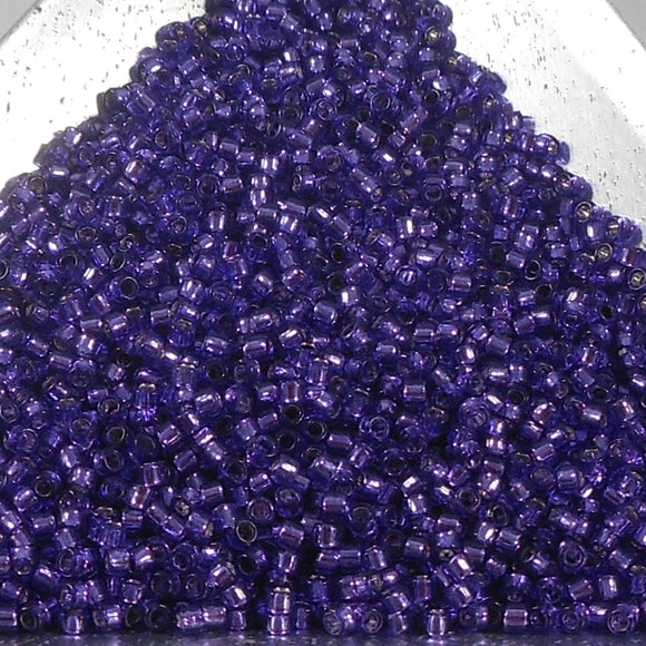 15/0 Toho Silver Lined Purple