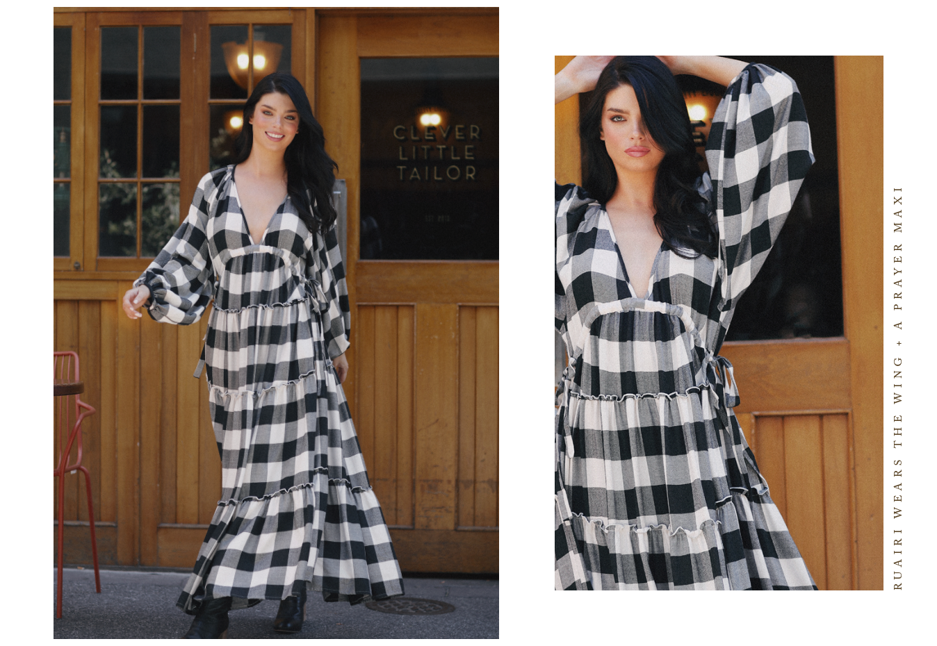 Wing and a Prayer Maxi  |  Clever Little Tailor