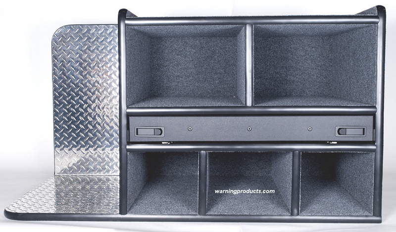 FD-101 Vehicle Command Cabinet by warningproducts.com