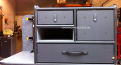 FD-129 Vehicle Command Cabinet by warningproducts.com