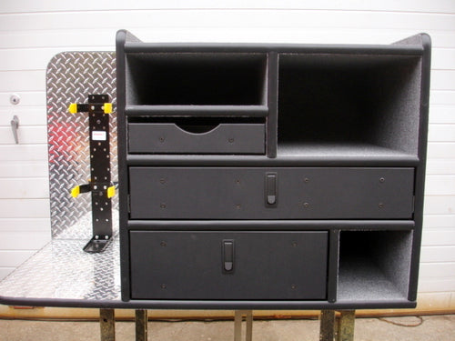 FD-106 Vehicle Command Cabinet by warningproducts.com