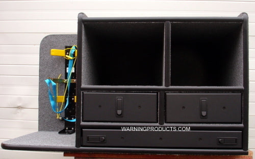 FD-119 Vehicle Command Cabinet by warningproducts.com