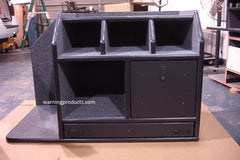 FD-107 Vehicle Command Cabinet by warningproducts.com