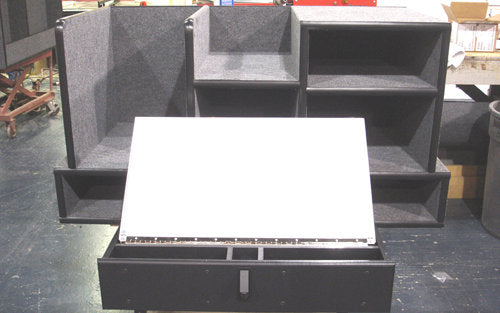 FD-111 Vehicle Command Cabinet by warningproducts.com