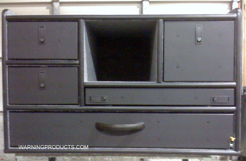 PD-409 Vehicle Command Cabinet by warningproducts.com