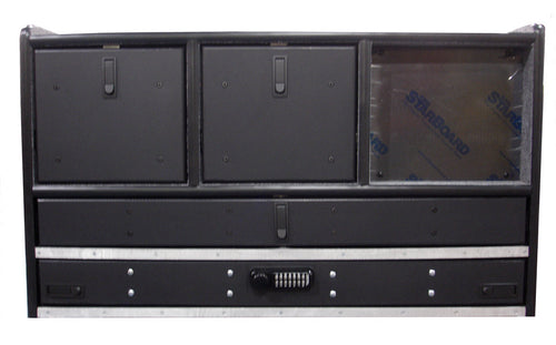 IC-350 Vehicle Command Cabinet by warningproducts.com