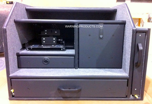 IC-325 Vehicle Command Cabinet by warningproducts.com