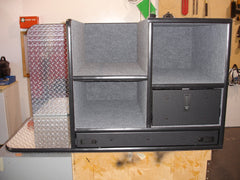 FD-117 Vehicle Command Cabinet by warningproducts.com