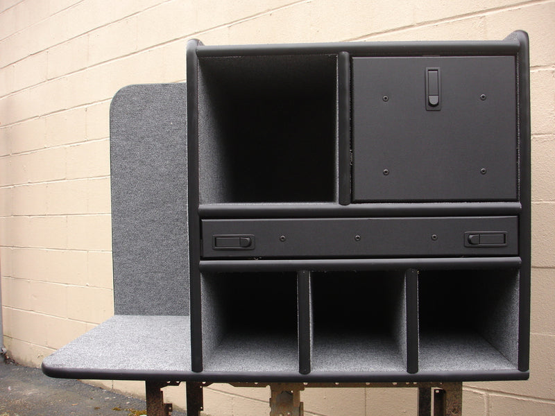 FD-108 Vehicle Command Cabinet by warningproducts.com