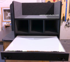 FD-100 Vehicle Command Cabinet by warningproducts.com