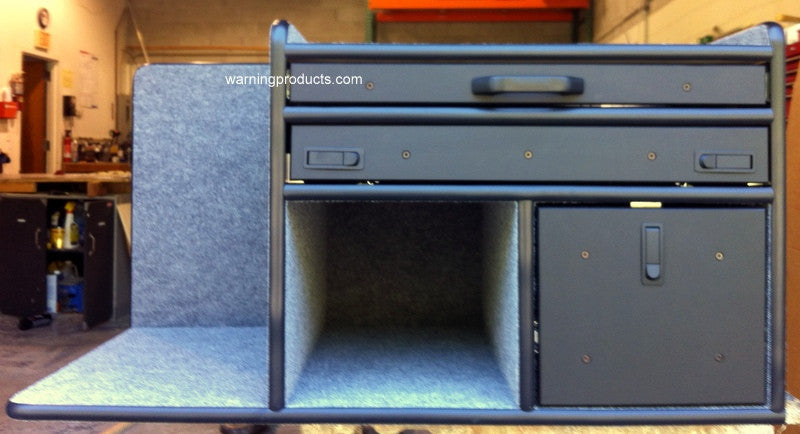FD-125 Vehicle Command Cabinet by warningproducts.com