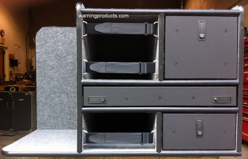 FD-124 Vehicle Command Cabinet by warningproducts.com
