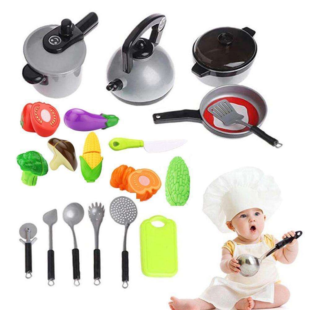 Baby Shining Kids Kitchen Toys Pretend Play Kitchen For Children Toddler  Toys 2-6 Year Old Baby Gift Puzzle Toys For Children