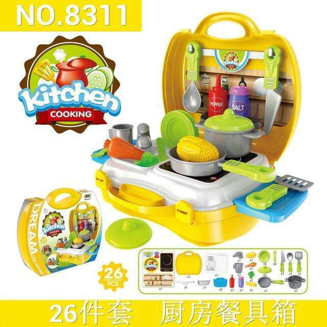 kitchen/toolbox/Medical Pretend play girls toys mini food fantasy kids  kitchen educational toys for children play food baby toys