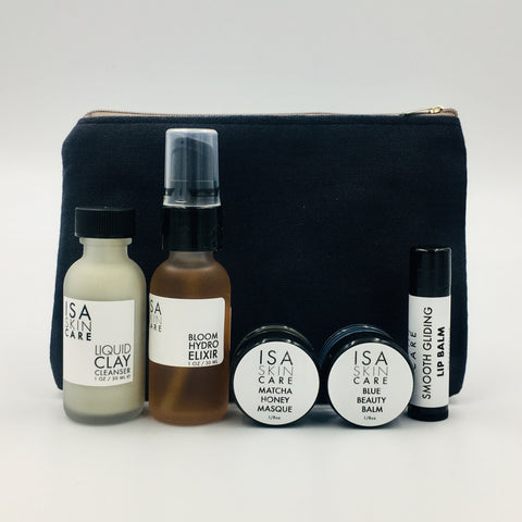 TRAVEL SET - BLUE