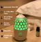 Electronic Ultrasonic Aroma Essential Oil Diffuser and Humidifier  With 90 Ml Tank Capacity - Multiple Different Colorful Lights