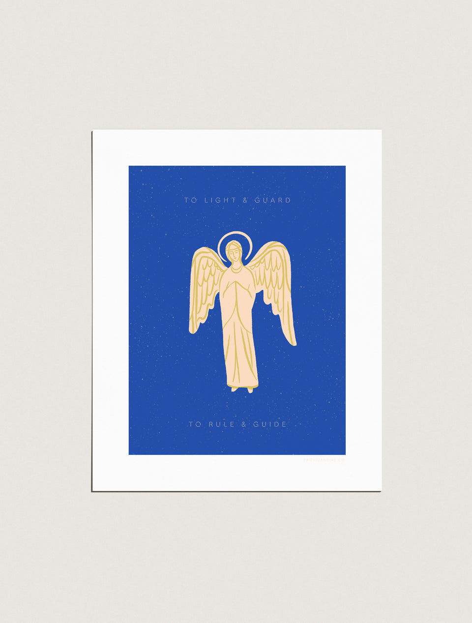 Print: Guardian Angel