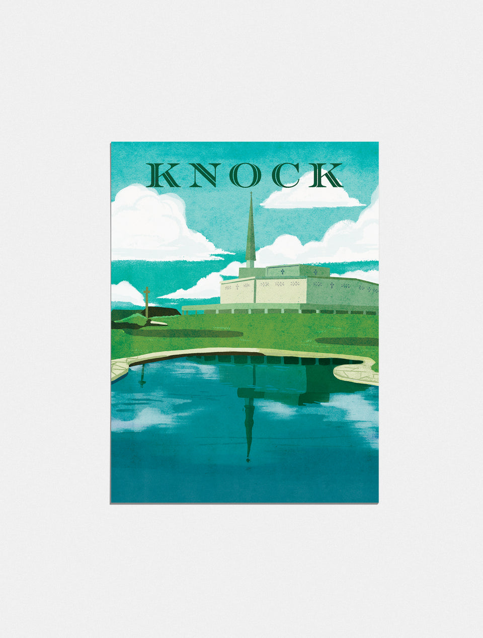 Premium Poster: Pilgrimage to Knock, 18x24