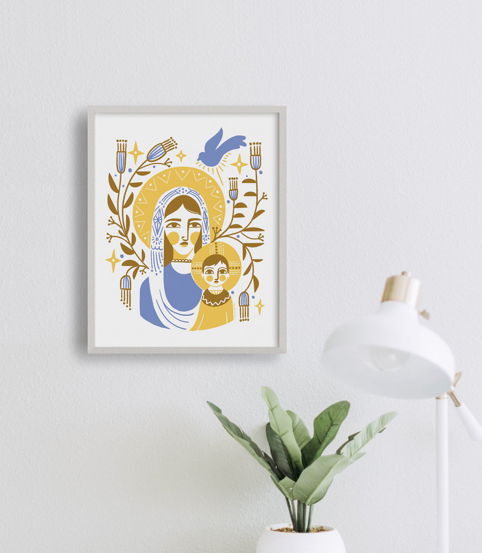 Print: Mother & Child