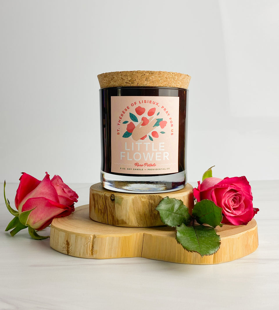 Candle: Little Flower