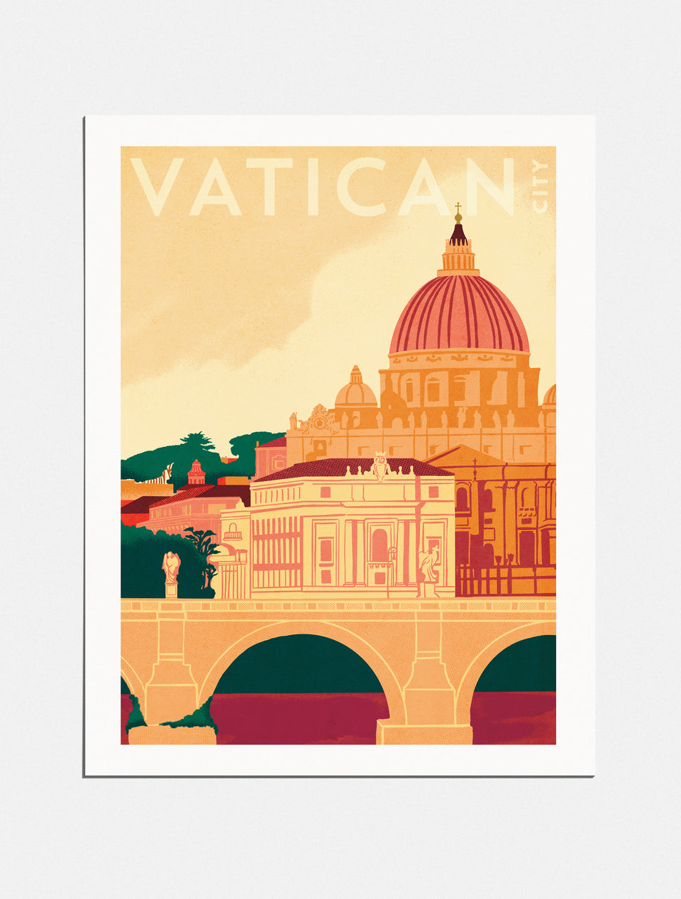 Premium Poster: Pilgrimage to Vatican City, 18x24