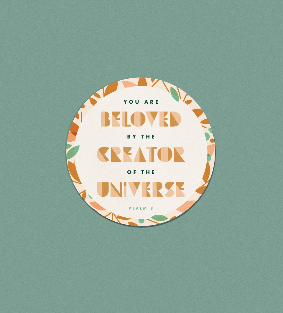 Sticker: Beloved Circle