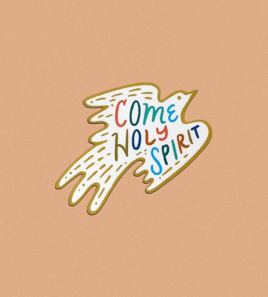 Sticker: Come Holy Spirit