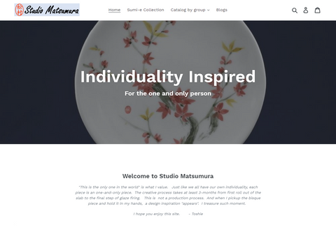 www.studiomatsumura.com new website and refreshed look